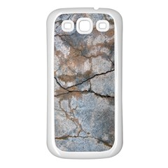 Stone Samsung Galaxy S3 Back Case (white)