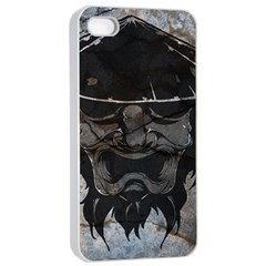 Stone Samurai Apple Iphone 4/4s Seamless Case (white) by Contest1775858