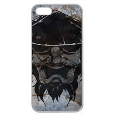 Stone Samurai Apple Seamless Iphone 5 Case (clear) by Contest1775858