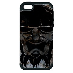 Stone Samurai Apple Iphone 5 Hardshell Case (pc+silicone) by Contest1775858
