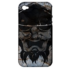 Stone Samurai Apple Iphone 4/4s Hardshell Case (pc+silicone) by Contest1775858
