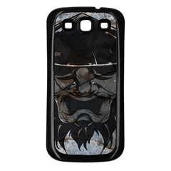 Stone Samurai Samsung Galaxy S3 Back Case (black) by Contest1775858