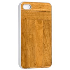 Wood Design Apple Iphone 4/4s Seamless Case (white)