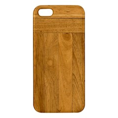 Wood Design Iphone 5s Premium Hardshell Case