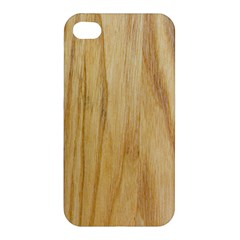 Light Wood Apple Iphone 4/4s Hardshell Case