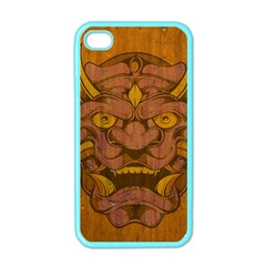 Demon Apple Iphone 4 Case (color) by Contest1775858