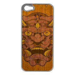 Demon Apple Iphone 5 Case (silver) by Contest1775858