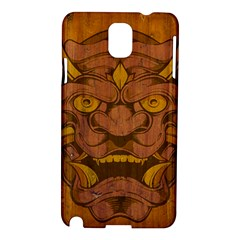 Demon Samsung Galaxy Note 3 N9005 Hardshell Case by Contest1775858