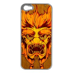 Oni Apple Iphone 5 Case (silver) by Contest1775858
