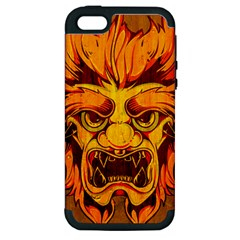 Oni Apple Iphone 5 Hardshell Case (pc+silicone) by Contest1775858