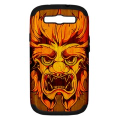 Oni Samsung Galaxy S Iii Hardshell Case (pc+silicone) by Contest1775858