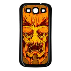Oni Samsung Galaxy S3 Back Case (black) by Contest1775858