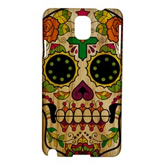 Sugar Skull Samsung Galaxy Note 3 N9005 Hardshell Case by Contest1775858