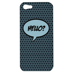 Hello Apple Iphone 5 Hardshell Case