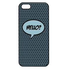 Hello Apple Iphone 5 Seamless Case (black) by PaolAllen2