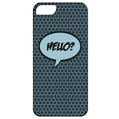 Hello Apple Iphone 5 Classic Hardshell Case by PaolAllen2
