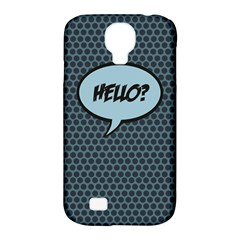 Hello Samsung Galaxy S4 Classic Hardshell Case (pc+silicone) by PaolAllen2