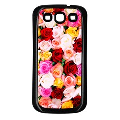 Stop & Smell The Iphone Samsung Galaxy S3 Back Case (black)