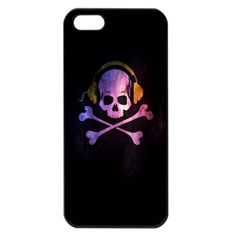 Rock Out With Your Skull Out    Apple Iphone 5 Seamless Case (black)