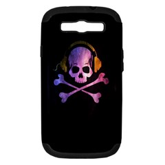 Rock Out With Your Skull Out    Samsung Galaxy S Iii Hardshell Case (pc+silicone) by TheTalkingDead