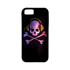 Rock Out With Your Skull Out    Apple Iphone 5 Classic Hardshell Case (pc+silicone)