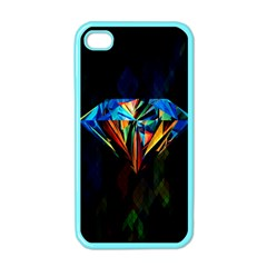 Diamonds Are Forever  Apple Iphone 4 Case (color) by TheTalkingDead