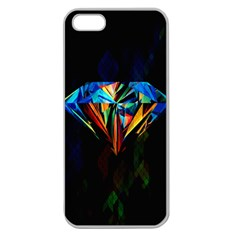Diamonds Are Forever  Apple Seamless Iphone 5 Case (clear)