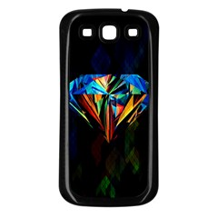 Diamonds Are Forever  Samsung Galaxy S3 Back Case (black) by TheTalkingDead