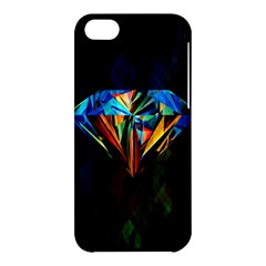 Diamonds Are Forever  Apple Iphone 5c Hardshell Case by TheTalkingDead