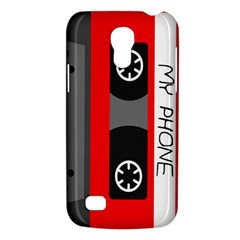 Cassette Phone Samsung Galaxy S4 Mini Hardshell Case  by TheTalkingDead