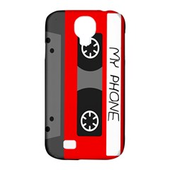 Cassette Phone Samsung Galaxy S4 Classic Hardshell Case (pc+silicone)