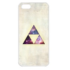 Cosmic Triangles Apple Iphone 5 Seamless Case (white) by Contest1775858