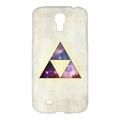 Cosmic Triangles Samsung Galaxy S4 I9500/i9505 Hardshell Case