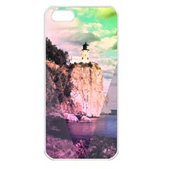 Lighthouse Apple Iphone 5 Seamless Case (white) by Contest1775858