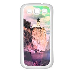 Lighthouse Samsung Galaxy S3 Back Case (white) by Contest1775858