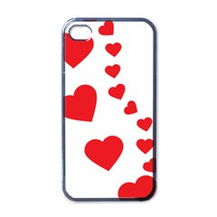 Follow Your Heart Apple Iphone 4 Case (black)