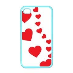 Follow Your Heart Apple Iphone 4 Case (color) by ContestDesigns