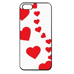 Follow Your Heart Apple Iphone 5 Seamless Case (black) by ContestDesigns
