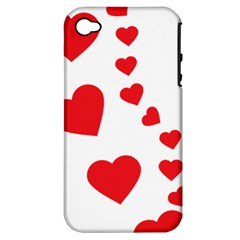 Follow Your Heart Apple Iphone 4/4s Hardshell Case (pc+silicone) by ContestDesigns