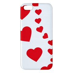 Follow Your Heart Iphone 5 Premium Hardshell Case by ContestDesigns