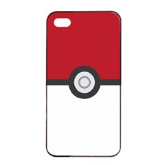 Let s Catch  em All! Apple Iphone 4/4s Seamless Case (black) by ContestDesigns