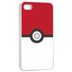 Let s Catch  em All! Apple Iphone 4/4s Seamless Case (white) by ContestDesigns