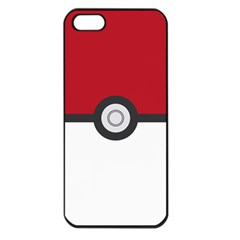 Let s Catch  em All! Apple Iphone 5 Seamless Case (black) by ContestDesigns