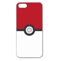 Let s Catch  em All! Apple Seamless Iphone 5 Case (clear) by ContestDesigns