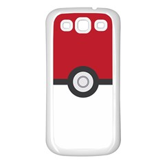 Let s Catch  em All! Samsung Galaxy S3 Back Case (white)