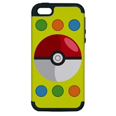 Starters Apple Iphone 5 Hardshell Case (pc+silicone) by ContestDesigns
