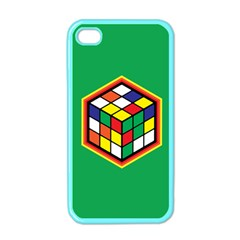 Colorful Cube, Solve It! Apple Iphone 4 Case (color)