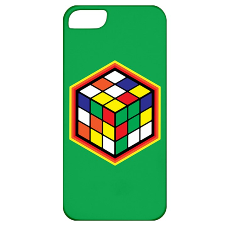 Colorful Cube, Solve It! Apple iPhone 5 Classic Hardshell Case