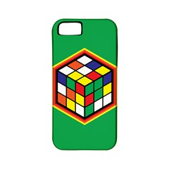 Colorful Cube, Solve It! Apple Iphone 5 Classic Hardshell Case (pc+silicone)