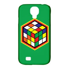 Colorful Cube, Solve It! Samsung Galaxy S4 Classic Hardshell Case (pc+silicone) by ContestDesigns